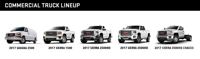 Commercial Truck Lineup