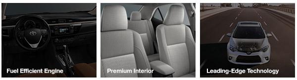 Fuel Efficient Engine, Premium Interior, Leading Edge Technology