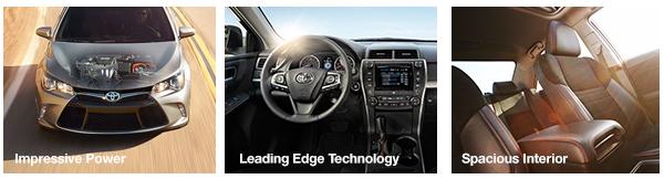 Impressive Power, Leading Edge Technology, Spacious Interior