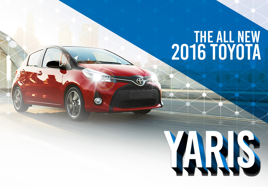 2016 TOYOTA YARIS SUBCOMPACT HATCHBACK AT TOYOTA OF TAMPA BAY