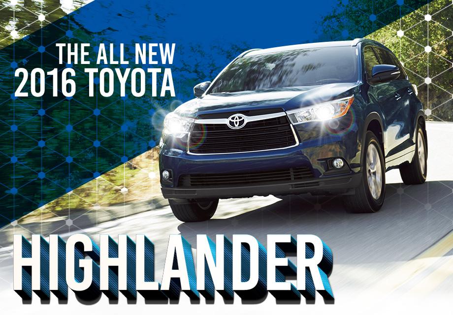 2016 Toyota Highlander - Toyota of Tampa Bay