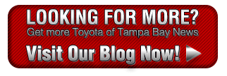 New Inventory at Toyota of Tampa Bay