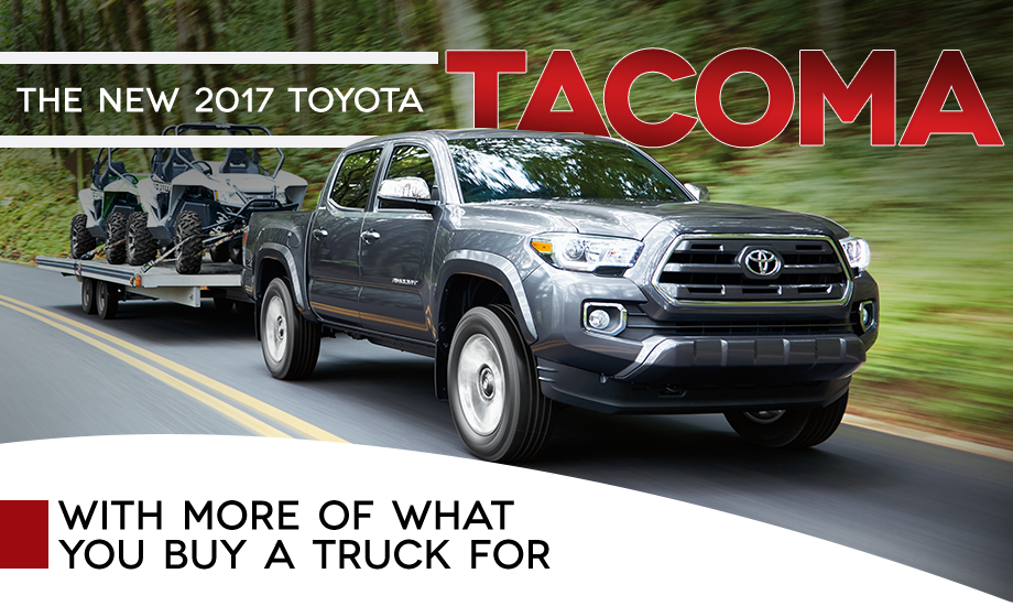 Buy lease 2017 tacoma special incentives low price markdowns Toyota of tampa bay florida