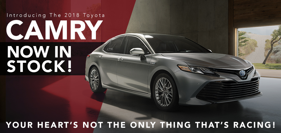 Introducing The 2018 Camry